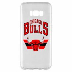 Чохол для Samsung S8+ Великий логотип Chicago Bulls