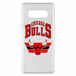 Чохол для Samsung Note 8 Великий логотип Chicago Bulls