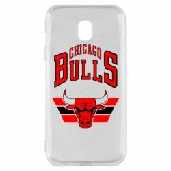 Чохол для Samsung J3 2017 Великий логотип Chicago Bulls