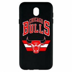 Чохол для Samsung J7 2017 Великий логотип Chicago Bulls