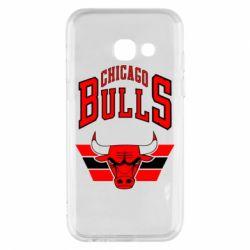 Чохол для Samsung A3 2017 Великий логотип Chicago Bulls