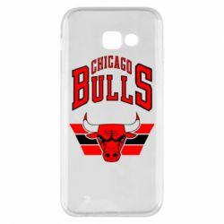 Чохол для Samsung A5 2017 Великий логотип Chicago Bulls