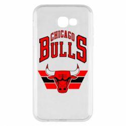 Чохол для Samsung A7 2017 Великий логотип Chicago Bulls