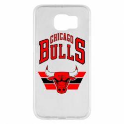 Чохол для Samsung S6 Великий логотип Chicago Bulls
