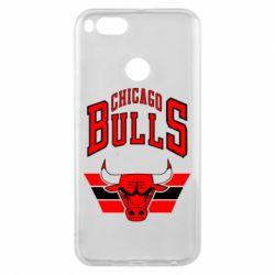 Чохол для Xiaomi Mi A1 Великий логотип Chicago Bulls