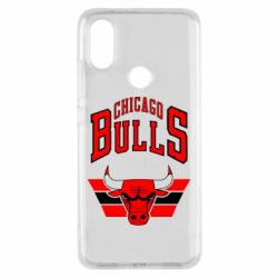 Чохол для Xiaomi Mi A2 Великий логотип Chicago Bulls