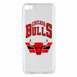 Чохол для Xiaomi Mi5/Mi5 Pro Великий логотип Chicago Bulls