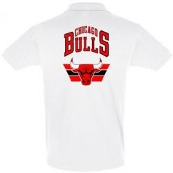 Футболка Поло Большой логотип Chicago Bulls - FatLine