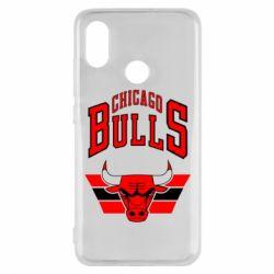Чехол для Xiaomi Mi8 Большой логотип Chicago Bulls