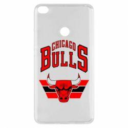 Чехол для Xiaomi Mi Max 2 Большой логотип Chicago Bulls