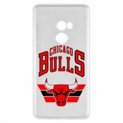 Чехол для Xiaomi Mi Mix 2 Большой логотип Chicago Bulls