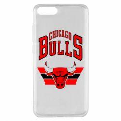 Чехол для Xiaomi Mi Note 3 Большой логотип Chicago Bulls
