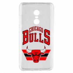 Чехол для Xiaomi Redmi Note 4 Большой логотип Chicago Bulls