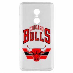 Чехол для Xiaomi Redmi Note 4x Большой логотип Chicago Bulls