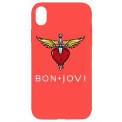Чехол для iPhone XR Bon Jovi
