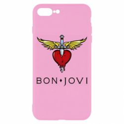 Чехол для iPhone 8 Plus Bon Jovi
