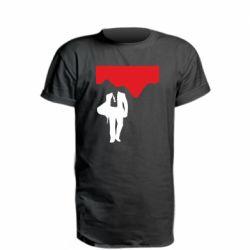 Подовжена футболка Bond 007 minimalism