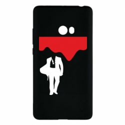 Чехол для Xiaomi Mi Note 2 Bond 007 minimalism