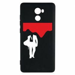 Чехол для Xiaomi Redmi 4 Bond 007 minimalism