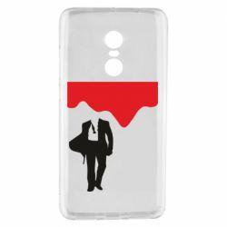 Чехол для Xiaomi Redmi Note 4 Bond 007 minimalism