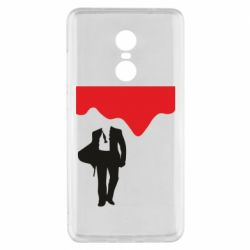 Чехол для Xiaomi Redmi Note 4x Bond 007 minimalism