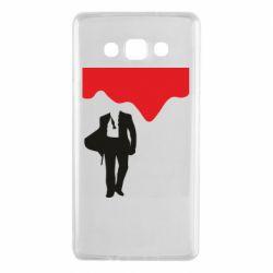 Чохол для Samsung A7 2015 Bond 007 minimalism