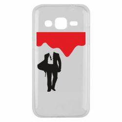Чохол для Samsung J2 2015 Bond 007 minimalism