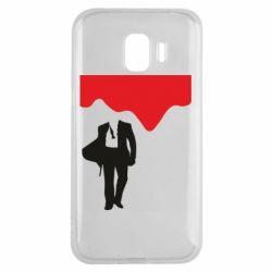 Чохол для Samsung J2 2018 Bond 007 minimalism