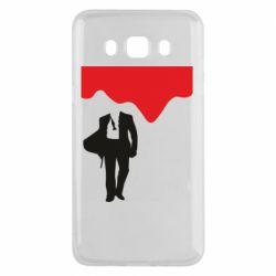 Чохол для Samsung J5 2016 Bond 007 minimalism