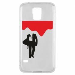 Чохол для Samsung S5 Bond 007 minimalism