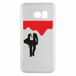 Чохол для Samsung S6 EDGE Bond 007 minimalism