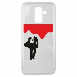Чохол для Samsung J8 2018 Bond 007 minimalism