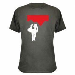 Камуфляжна футболка Bond 007 minimalism