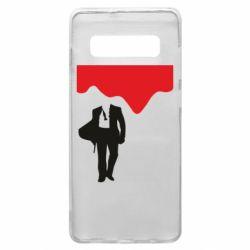 Чохол для Samsung S10+ Bond 007 minimalism
