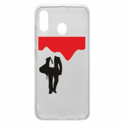 Чохол для Samsung A20 Bond 007 minimalism