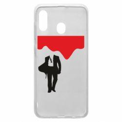 Чохол для Samsung A30 Bond 007 minimalism
