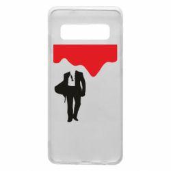 Чохол для Samsung S10 Bond 007 minimalism
