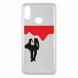 Чохол для Samsung A10s Bond 007 minimalism