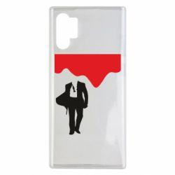 Чохол для Samsung Note 10 Plus Bond 007 minimalism