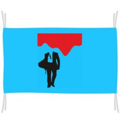 Прапор Bond 007 minimalism