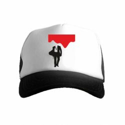 Дитяча кепка-тракер Bond 007 minimalism