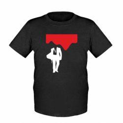 Дитяча футболка Bond 007 minimalism