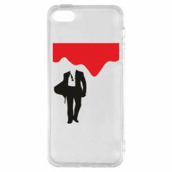 Чохол для iphone 5/5S/SE Bond 007 minimalism