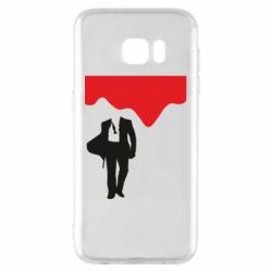 Чохол для Samsung S7 EDGE Bond 007 minimalism