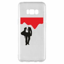 Чохол для Samsung S8+ Bond 007 minimalism
