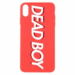 Чохол для iPhone X/Xs Bones: Dead boy
