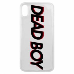 Чохол для iPhone Xs Max Bones: Dead boy