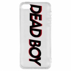 Чохол для iphone 5/5S/SE Bones: Dead boy
