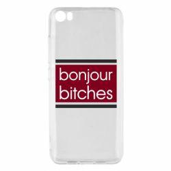 Чехол для Xiaomi Mi5/Mi5 Pro Bonjour bitches