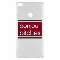 Чехол для Xiaomi Mi Max 2 Bonjour bitches